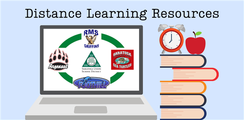 Distance Learning Resources graphic